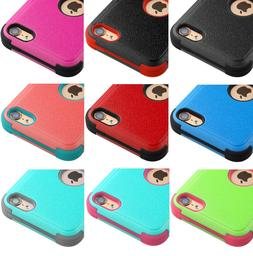 For iPod Touch 5th & 6th Gen - Hybrid Hard & Soft Rugged Arm