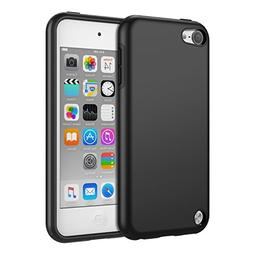 MoKo Case for iPod Touch 6 / iPod Touch 5, 2 in 1 Shock Abso