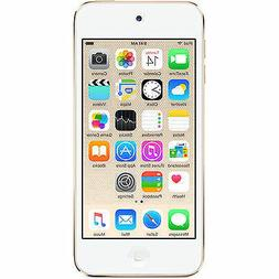 APPLE IPOD TOUCH 6th GENERATION 16GB GOLD MP3 PLAYER MKH02LL