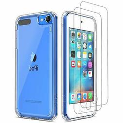 ULAK iPod Touch 7 Case iPod Touch 6 5 Case with 2 Screen Pro