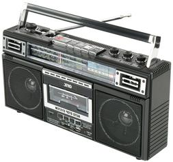 QFX J-220BT Bluetooth Portable Cassette Player Recorder Conv