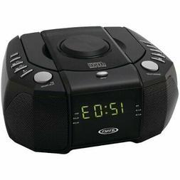 Jensen JCR-310 Dual Alarm Clock Am-fm Stereo Radio With Top-