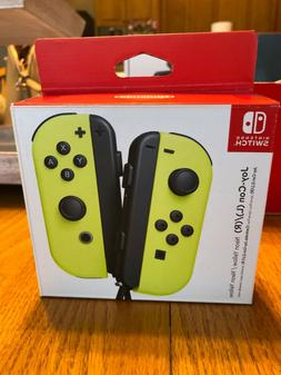 Nintendo Joy-Con / Neon Yellow Controllers