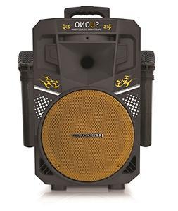 Karaoke machine, Wireless Portable Speakers with 2 Wireless