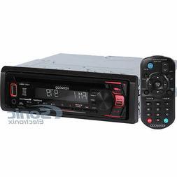 Kenwood KDC-168U Single DIN In-Dash CD/AM/FM Digital Media R