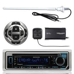 Kenwood KMR-D368BT MP3/USB/AUX Marine Boat Yacht Stereo Rece
