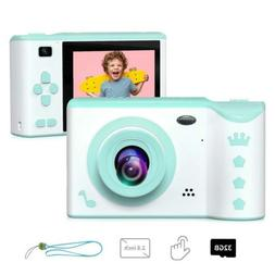 Kids Camera, ieGeek Digital 2.8 Inches Front and Rear Dual..