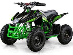 Outdoor Kids Children Titan 24V Green Mini Quad ATV Dirt Mot
