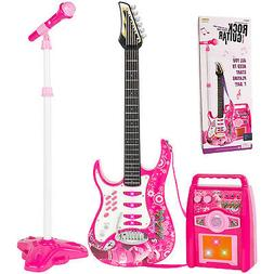 Kids Multi-color Electric Guitar  Set MP3 Player Learning To