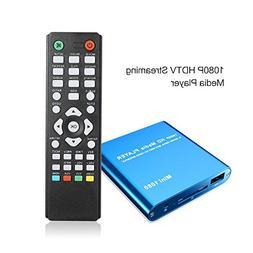 Kingpeony Mini Full HD 1080P Digital Streaming Media Player