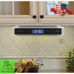 Kitchen Under Counter Cabinet Bluetooth Stereo Radio CD Play