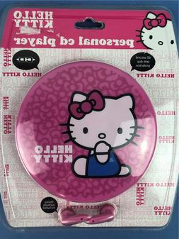 Hello Kitty Kt2035p Personal Cd Player