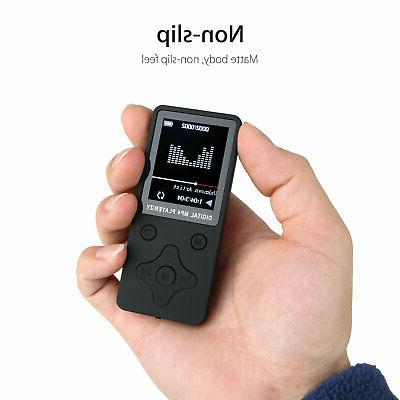 "1.8"" LCD Screen MP3 Music Lossless w/ FM Radio Support 32GB"