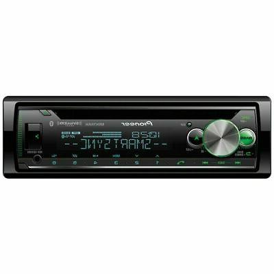 Pioneer 1-DIN Receiver USB Aux DEH-S6100BS