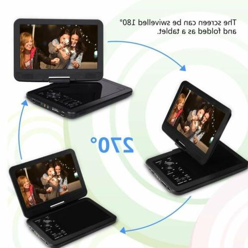 """10.5"""" Portable Swivel VCD Video for"""