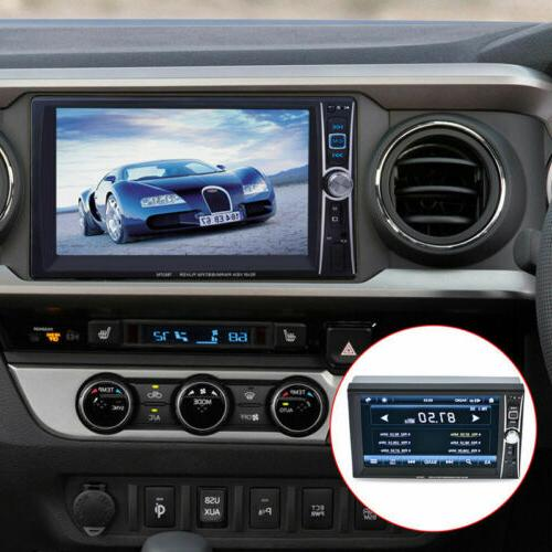 "1080P Bluetooth Stereo Radio DIN 7"" HD Player"