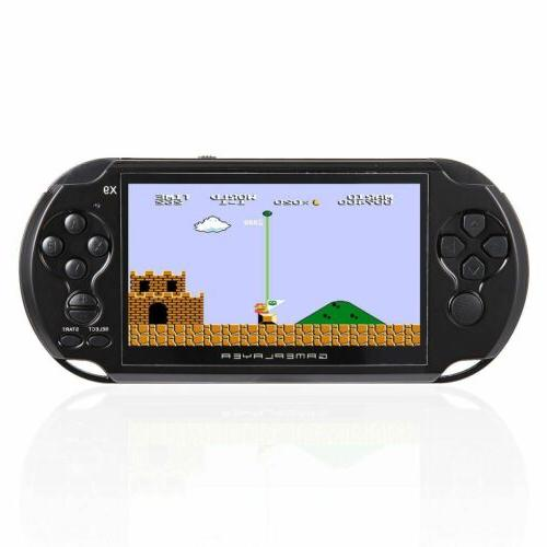 128 X9 Handheld Game MP4 MP5 Built-in 10000 Game