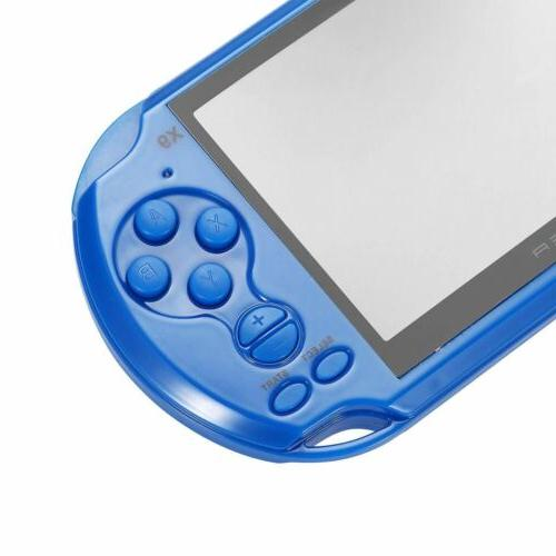 128 Bit 8GB X9 Handheld Console MP4 Player Built-in 10000