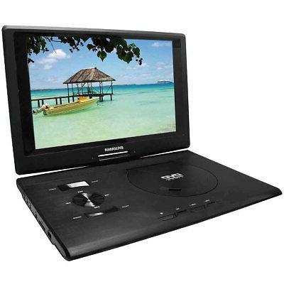 13 3 swivel screen portable dvd player