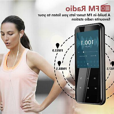 16/32GB Bluetooth Touch MP3 Player Lossless Sound
