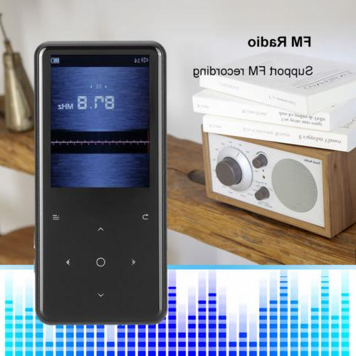 Portable MP3 Bluetooth Music Player with Hi-Fi Lossless 128GB
