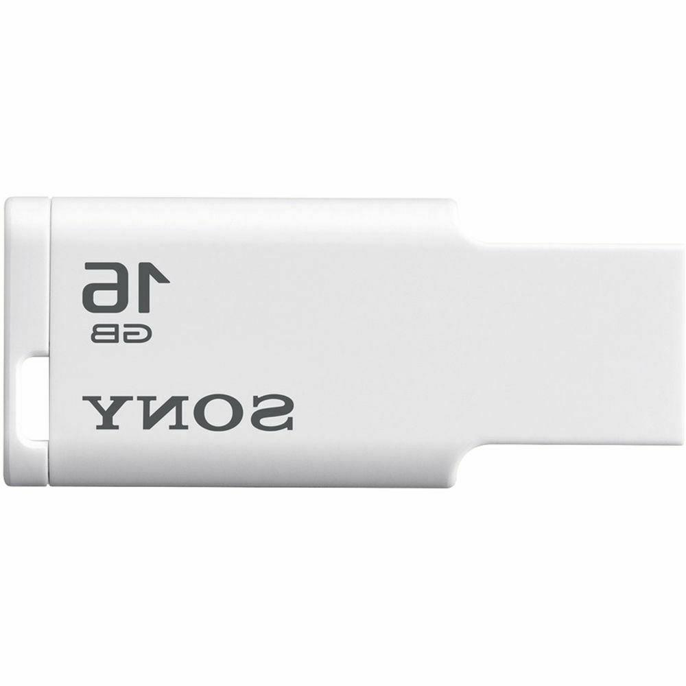 Sony 16GB USB 2.0 Flash Drive MicroVault M1 Series White