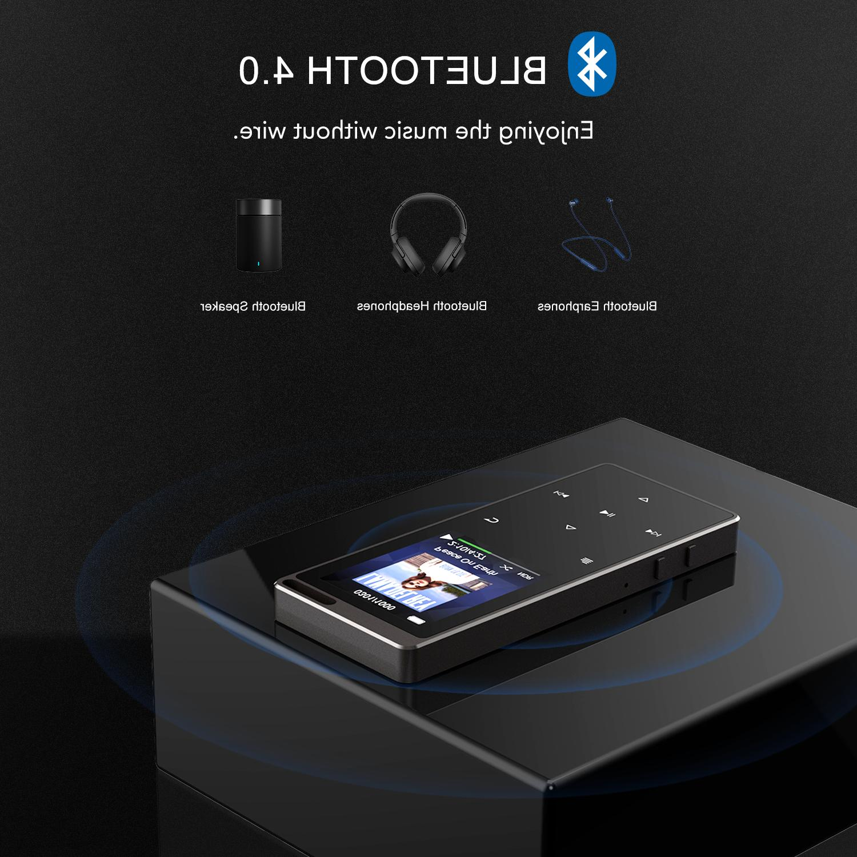 AGPTEK 16GB Bluetooth MP3 Recorder
