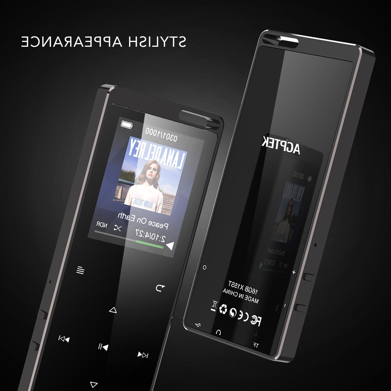 AGPTEK X15ST MP3 with FM Recorder