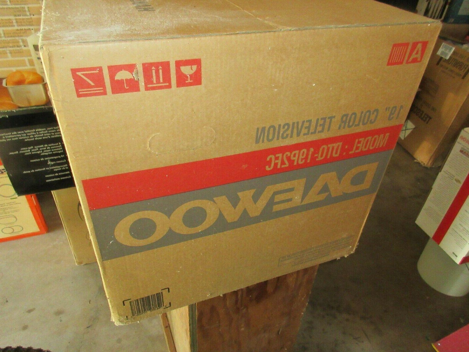 Daewoo , Color Television Model: DTQ-19P2FC