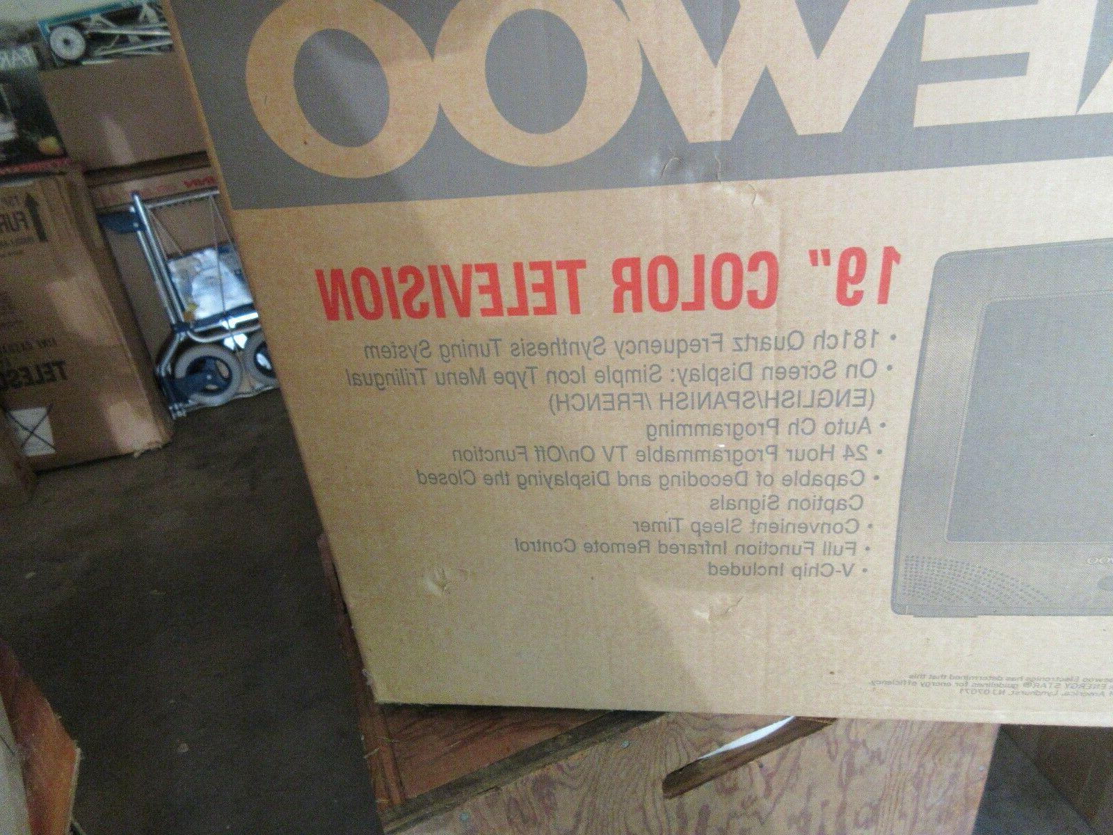 "Daewoo , 19"" Television Model: DTQ-19P2FC"