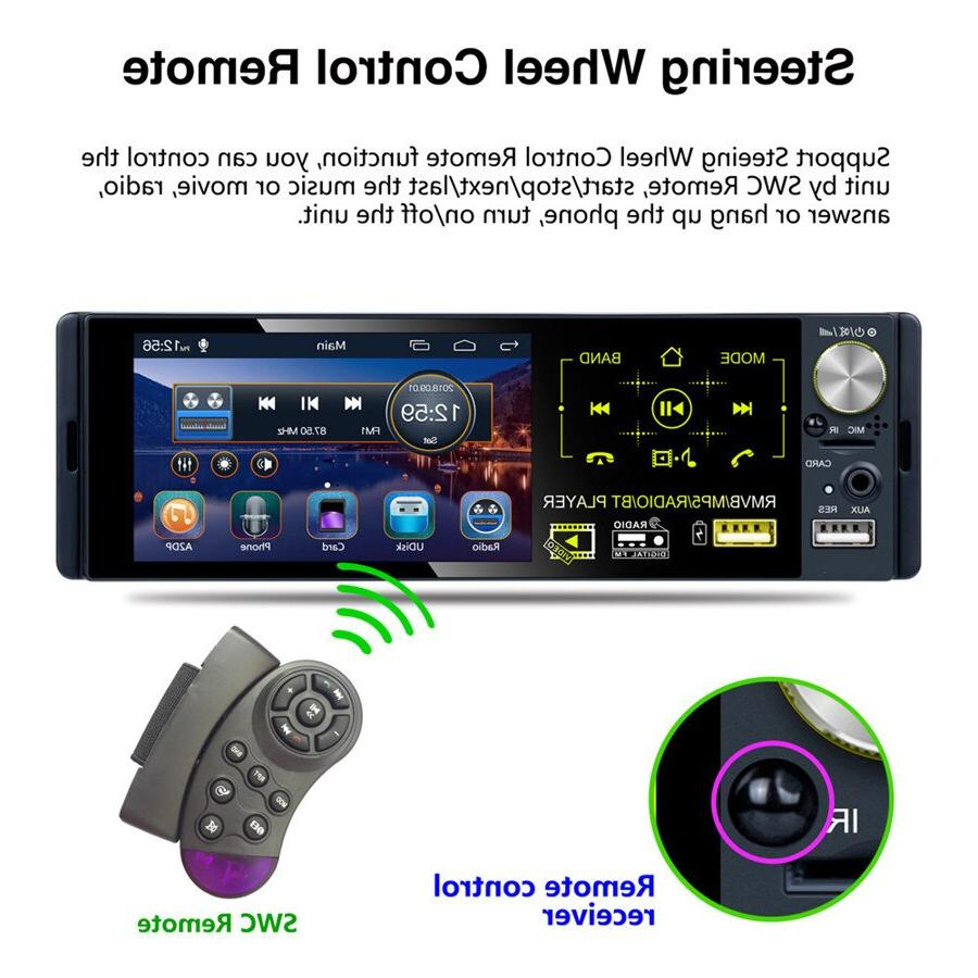 1DIN AM support Micophone with Dynamic