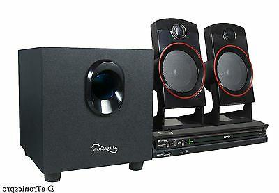 2 1ch home theater surround sound system