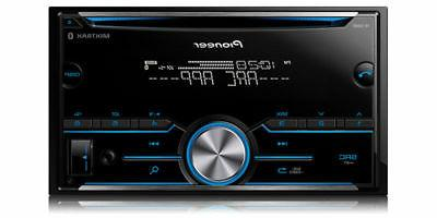 Pioneer 2-DIN Car Stereo CD Player FH-S500BT