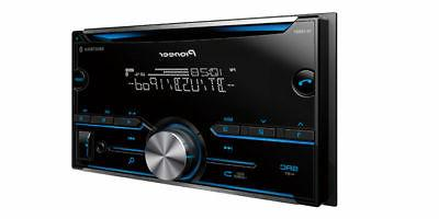 Pioneer Car Stereo CD Player Receiver Bluetooth AUX FH-S500BT