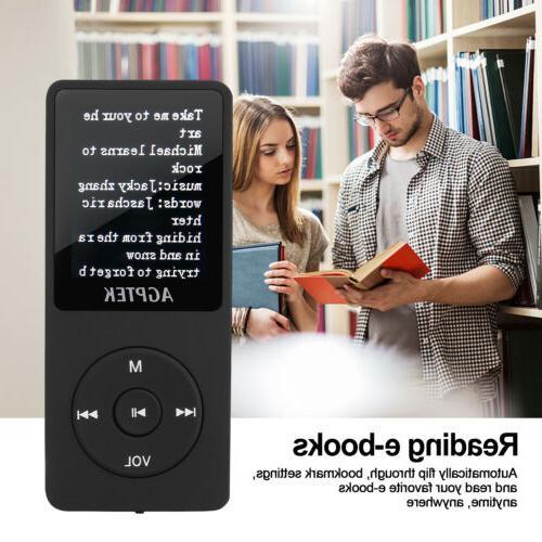 AGPtEK Version Lossless Sound MP3 70 Playback 8GB