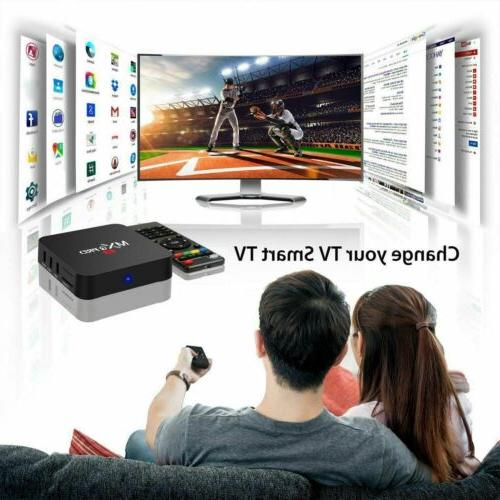 2019 Pro Smart 8G Quad Core 4K 2.4GHz Media Player