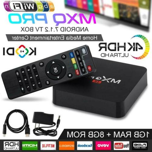 2019 mxq pro android smart tv box