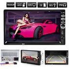 """7"""" 2Din Car Stereo MP5 MP3 Player Touch Screen FM Radio USB"""