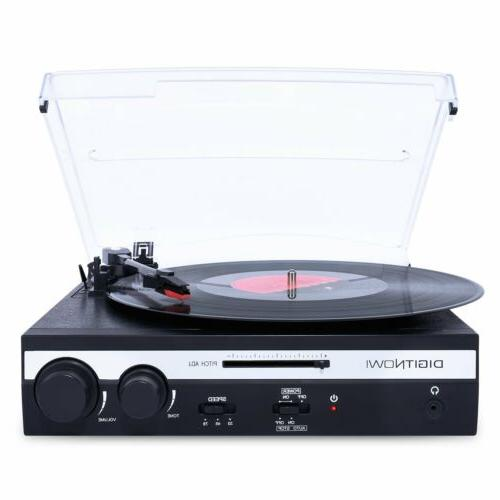3-Speed USB Turntable Vinyl LP Record Player / Converter Bui