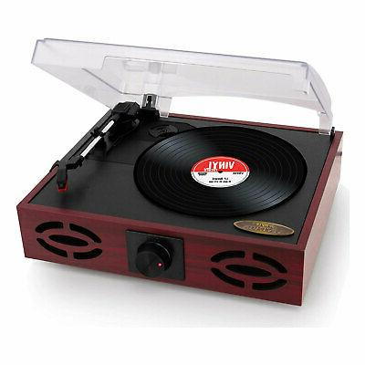 3 speed vintage classic style record player