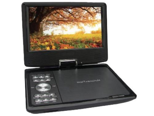Qfx Pdt 309dtv 9 Portablerechargeable Digital Tv Dvd Player