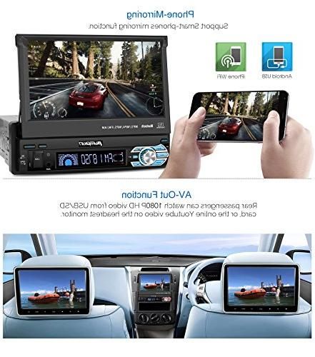 32GB Din Radio Navigation, inch Out Touch Support MirrorLink, Camera, input, SD/ USB, Dash Cam