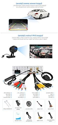 32GB + 2GB Single Din Navigation, inch Out Screen Support Backup Camera, AUX SD/ USB, Cam