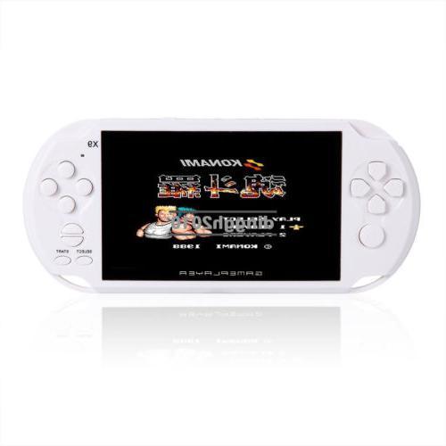 32Bit X9 Handheld 5.1'' Screen MP3 Game free Games