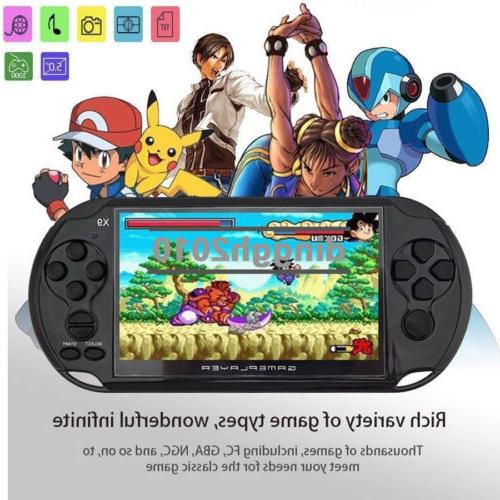 32Bit 5.1'' MP3 Player Game Console Built-in Games