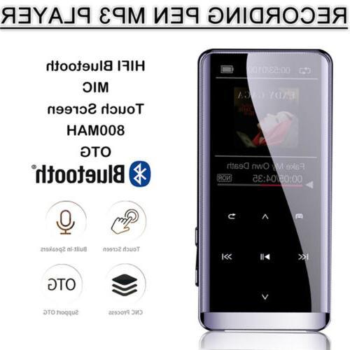 Bluetooth Media FM Radio Recorder HIFI US