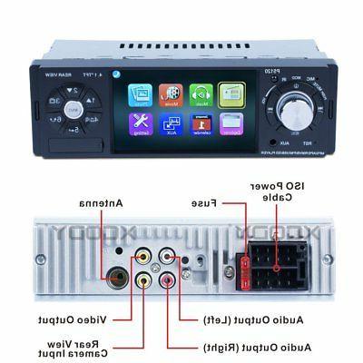 Stereo Auto Radio Audio MP3 Player Reverse Camera