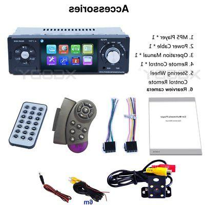 """4.1"""" 1 Stereo Bluetooth Audio MP3 Player with Reverse Camera"""