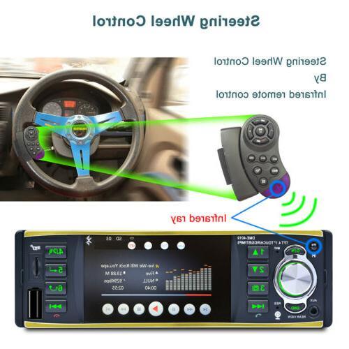 "4.1"" Car Audio In MP3 MP5 Player FM USB"