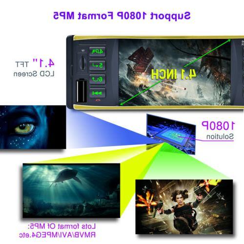 "4.1"" Car Audio Dash MP3 Player FM USB"